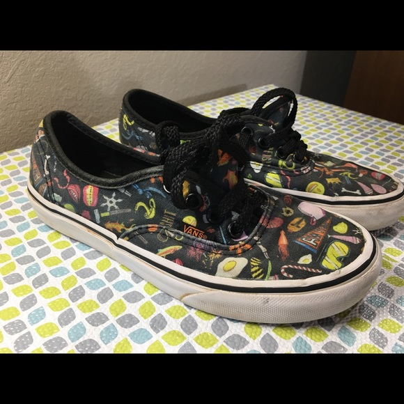 funky vans shoes